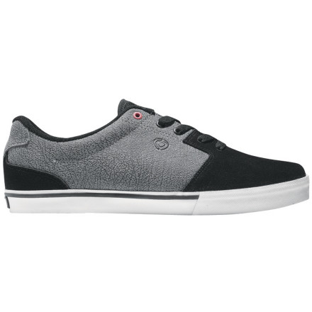 Skateboard The Nuge pro-model C1RCA Tweest Skate Shoe features a low-profile design for precise flicks, and offers just enough padding to keep your feet feeling good without compromising the slim silhouette. - $51.96