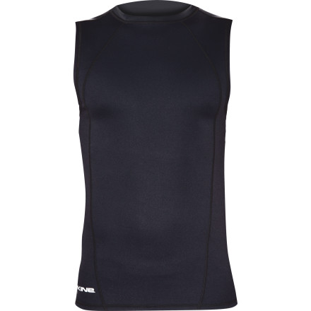Surf Next time you're in the water add a little warmth without having to cover up your guns with the Dakine Neo-Insulator Men's Sleeveless Rashguard. Silver Skin neoprene helps retain body heat without restricting movement so you can surf and paddle freely while staying warm and comfortable. - $79.95