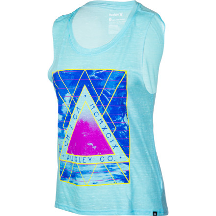 Surf Hurley Palm Island Tank Top - Women's - $26.95