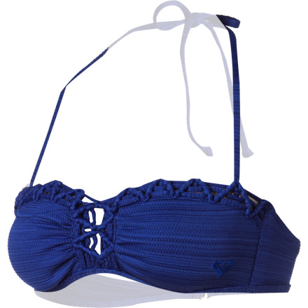 Surf Roxy Naturally Beautiful Bandeau Bikini Top - Women's - $50.00