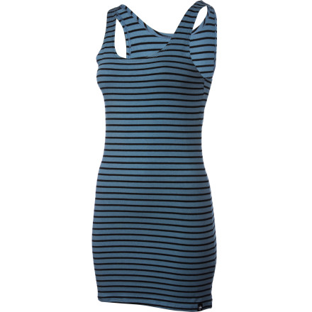 Entertainment The versatile, super-cute Arbor Pacifica Dress works all alone with flip-flops on a hot summer day, and also pairs great with leggings and boots for a slightly more refined look. - $53.95