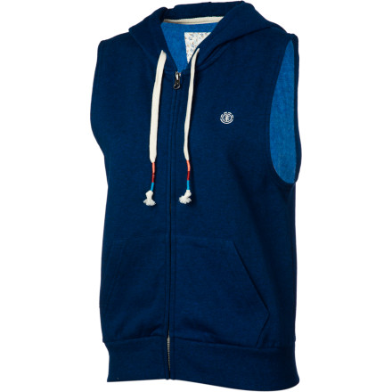 Skateboard For the longest time you couldn't figure out what it was that you didn't like about hoodies, but now the Element Playlist Women's Sleeveless Full-Zip Hoodie made you realize it was just the sleeves that you didn't like. - $44.45