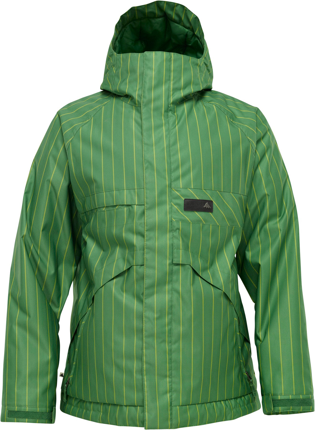 Snowboard You'll be hard pressed to find more features and performance for the money.Key Features of the Burton Poacher Snowboard Jacket: 10,000mm Waterproof 5,000g Breathability DRYRIDE Durashell Sig Fit NEW Double Package Trail Mapping: Taffeta lining w/NEW Zonal 3M Thinsulate Insulation (60G Body/40G Sleeves) Printed Brushed Plain Weave Fabric (Printed Colorways) Pit Zips NEW 3M Thinsulate Insulation [Excluding Shells] Stretch Waist Gaiter with Jacket-to-Pant Interface NEW Antimicrobial Plush Collar Pocket Access Hem Cinch Goggle/Media Pocket Critically Taped Seams Raised Twill Fabric (Solid Colorways) Fulltime Contour Hood Interior Mesh Goggle Pocket w/Audio Stash DRYRIDE Fabrication with DWR Coating Microfleece-Lined Handwarmer Pockets Articulated Sleeves Engineered Lining Bomber YKK Zippers Contour Hood Chafe-Free Collar Adjustable Cuff Closures Jacket-to-Pant Interface Pass Pocket/Ticket O-Ring Taped Seams Adjustable Hood - $111.95