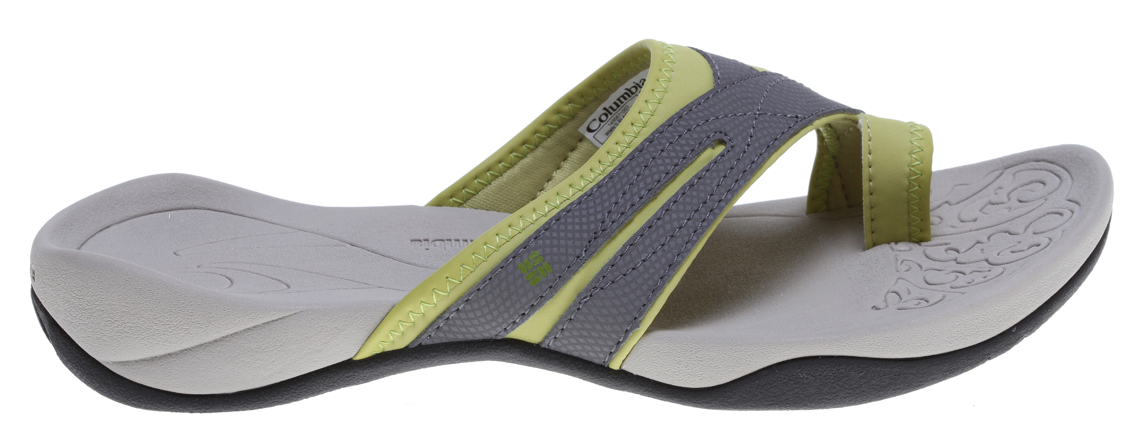 Surf Lightweight and cozy, this stylish toe-wrap sandal is ideal for staying comfortable during active summer days. * Techlite lightweight cushioned midsole * Omni-Grip high traction wet grip rubber * Synthetic leather upper * Hydrophobic lining * Weight: size 7, 1/2 pair = 5.7 oz/161.59g * Imported * Non-marking wet traction rubber - $26.95