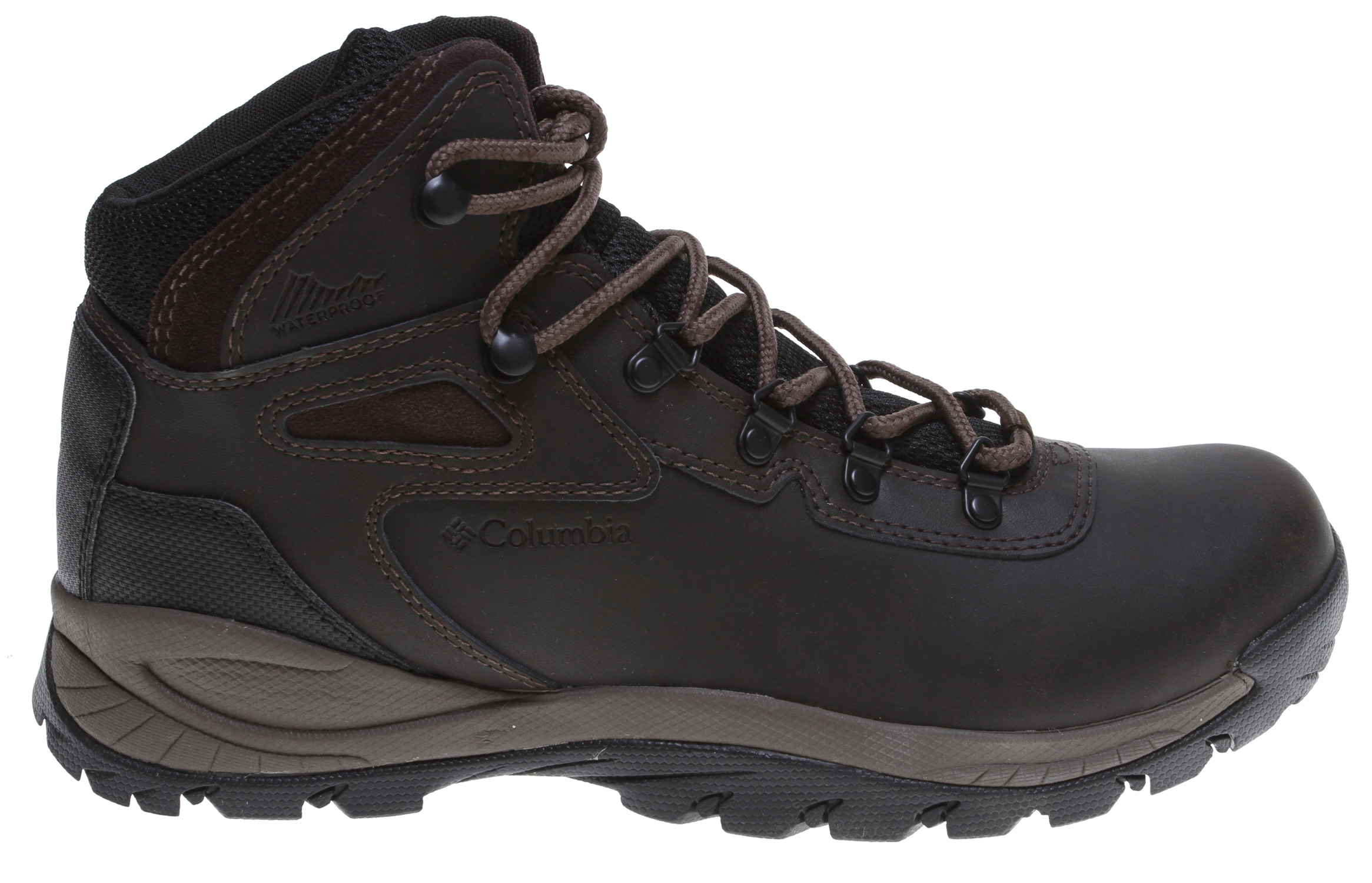 Camp and Hike Supportive and durable hiking boot for those long days on the trail.Key Features of the Columbia Newton Ridge Plus Hiking Boots: Breathable mesh textile Leather upper Waterproof bootie construction Hook and Loop Closure system Midsole: Techlite lightweight cushioned midsole Outsole: Omni-Grip non marking traction rubber - $67.95