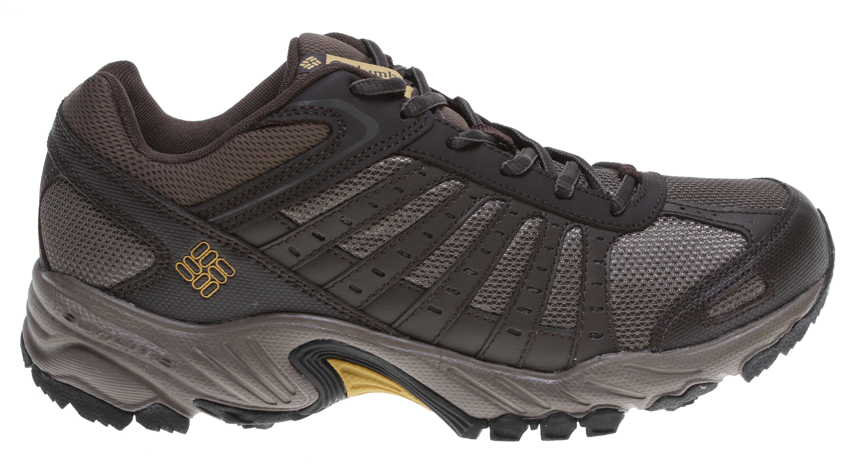 Fitness A running inspired trail shoe designed to be lightweight and supportive.Key Features of the Columbia Whitney Ridge Hiking Shoes: Breathable mesh textile PU Coated Midsole: Techlite lightweight cushioned midsole Outsole: Omni grip non marking traction rubber - $51.95