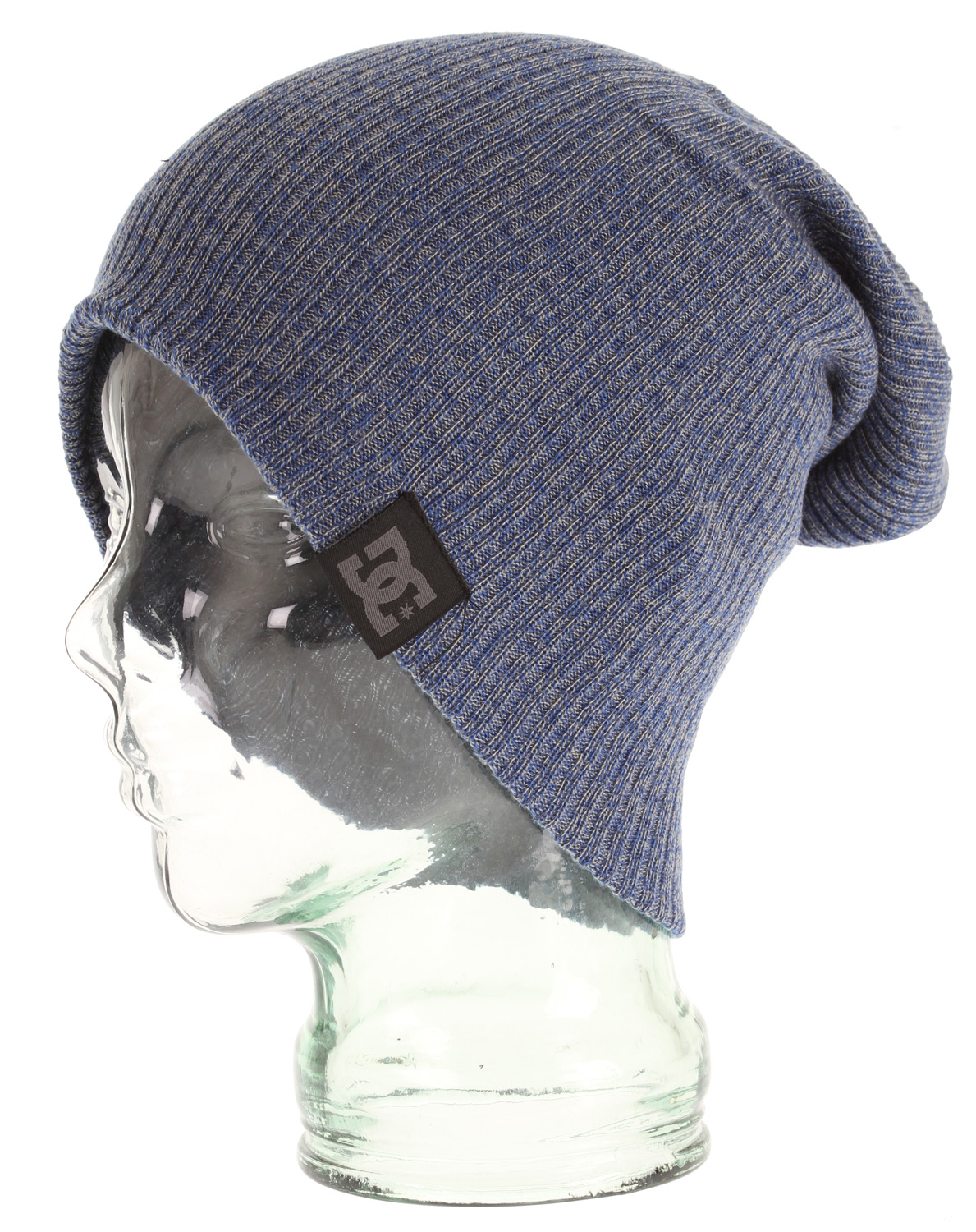 Skateboard Heathered two tone yard slouch beanie. 100% acrylic. - $19.95