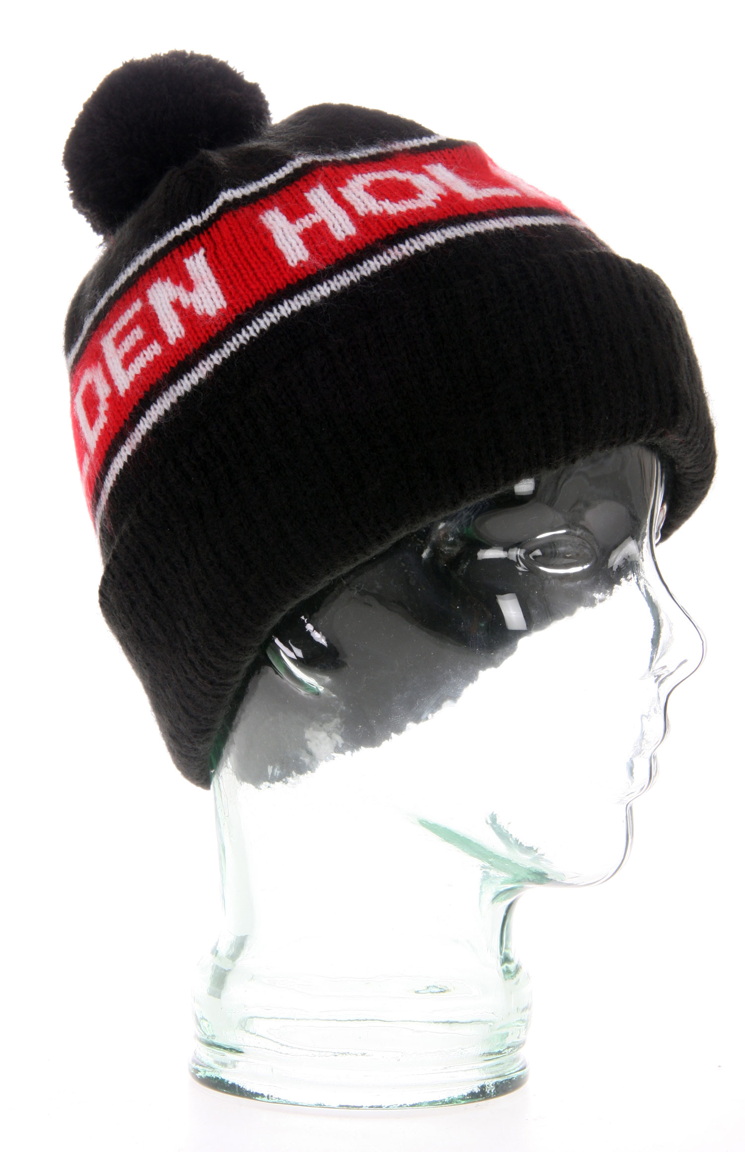 Join the talented Holden crew and show your solidarity by sporting the beanie that bears its name. You'll appreciate the superior softness that results from the subtly distressed rib knit acrylic in the Holden Teamster Beanie. Topped with a jaunty pom-pom, this cool cap boasts the Holden name knit around its circumference. The company originated by a snowboarder and dedicated to continuing to revolutionize sports outerwear is also the outfitter of an enviable list of talent. Be a part of that dream team in the Teamster beanie.Key Features of the Holden Teamster Beanie: Subtle distressing for soft feel 100% Acrylic - $17.95