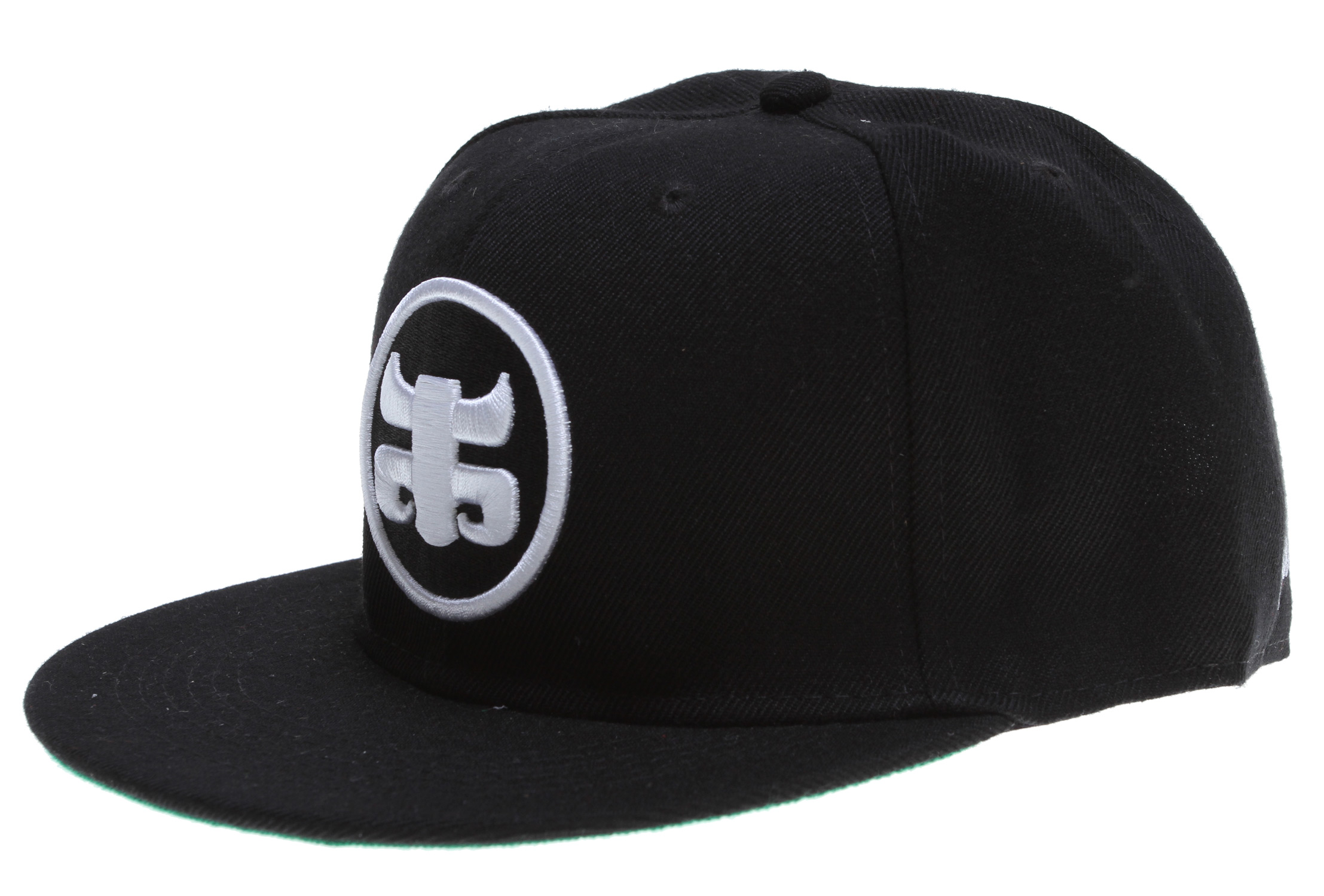 100% Cotton/Poly Blended Snap Back With Full Front Icon Embroidery. - $12.95