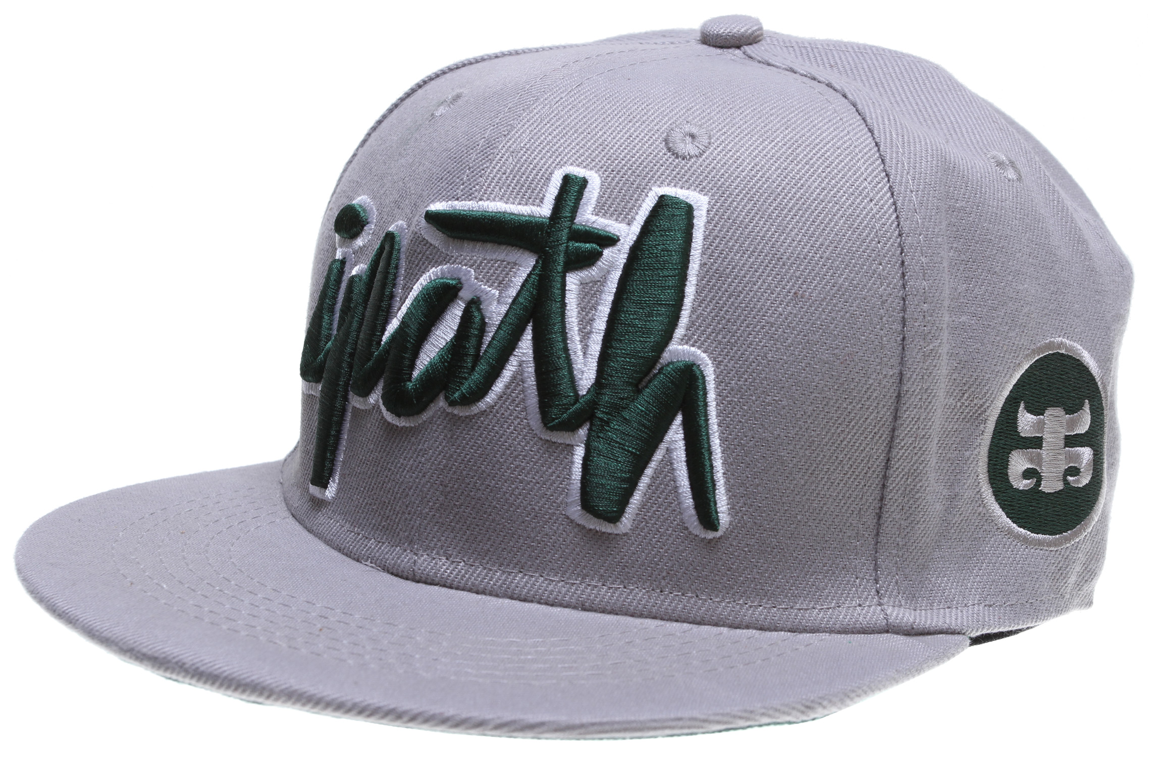 100% Cotton/Poly Blended Snap Back With Full Ipath Scripted Embroidery - $12.95