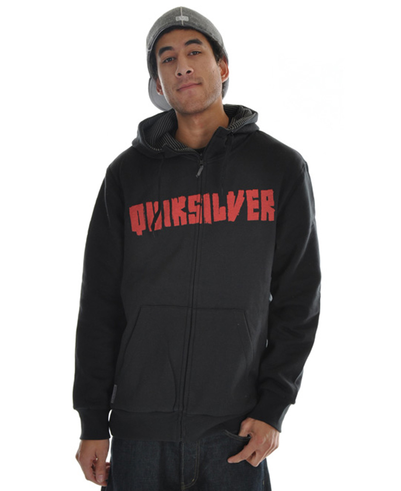 Surf If you have been looking for that hoodie with style and comfort and won't cause you to spend every penny you have when you buy it, if so then look no further because the Quiksilver Batfox Full Zip Hoodie is exactly what you have been looking for. This hoodie is relaxed fit so you know it will keep you comfortable while just walking around to showing off your skills. The quality and price of the Quiksilver Batfox Full Zip Hoodie makes it a must have for everybody.Key Features of the Quiksilver Batfox Full Zip Hoodie: 80% Cotton 20% Recycled Polyester 3 Panel Hood Draw Cord at Hood Opening Reversible - $56.95
