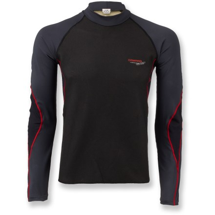 Wake The Camaro Open Cell Watersports shirt is an all-around performer for paddling, surfing, snorkeling, and swimming. - $46.73