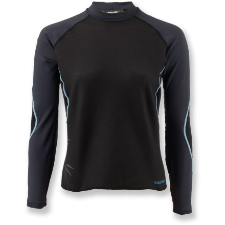 Wake The women's Camaro Open Cell Watersports shirt offers warmth and comfort in mild water conditions. - $46.73
