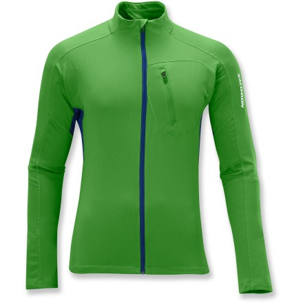Fitness The Salomon XA Midlayer top regulates your body temperature so well that you just might forget you're wearing it. - $27.73