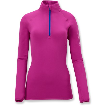 Fitness The Salomon XA Midlayer half-zip top lets you adjust ventilation and control body temperature on the go--ideal for highly aerobic sports such as trail running and Nordic skiing. - $24.73