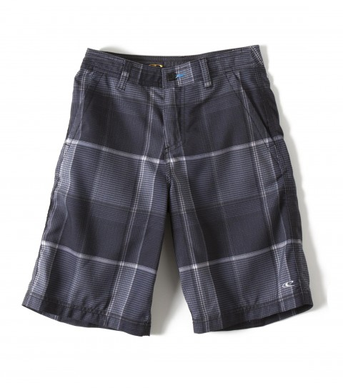 Surf O'Neill Boys Insider Hybrid Shorts.  Epicstretch.  Zipper fly; internal waistband drawcord; front pockets with zippers; back pockets; embroidered and screened logos. - $39.95