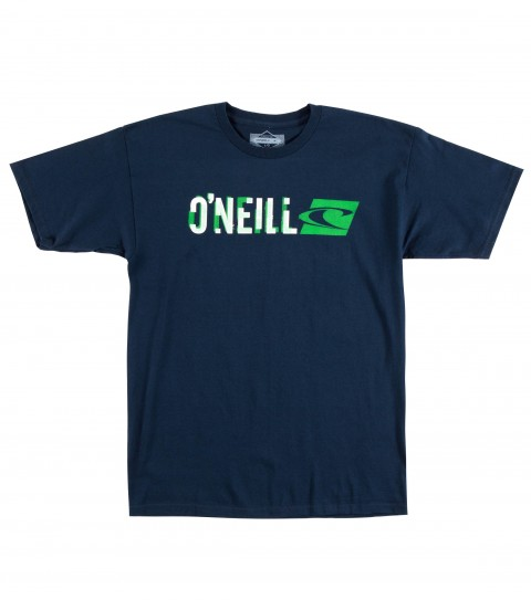Surf O'Neill Demand Tee.  100% Cotton.  20 singles classic fit tee with softhand screenprint. - $14.99