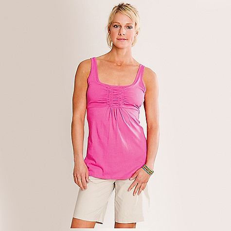 Fitness On Sale. Carve Designs Women's Sadie Tank DECENT FEATURES of the Carve Designs Women's Sadie Tank Built in bra Front gathering detai Flattering A line fit through the body Peep hole in back Made of soft cotton modal fabric Machine wash - $36.76