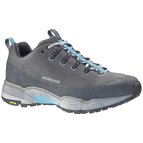 Fitness Free Shipping. Patagonia Women's Scree Shield Shoe DECENT FEATURES of the Patagonia Women's Scree Shield Shoe Durable suede leather upper for protection Rubber rand and toe bumper for durability and protection Dynamic Fit Lacing System provides a precise and secure fit 20% recycled EVA anatomical footbed provides cushioning, comfort and support 2mm 15% recycled EVA insole provides extra cushioning Single density 15% recycled EVA foot frame provides pronation and stabilization control Forefoot shock absorption pad protects metatarsal TPU Shock Plate distributes pressure and protects the foot TPU Arch Bridge provides midfoot stability and alignment Multi-surface high density TPU studs in outsole forefoot provide traction in uneven terrain Gender-specific Vibram Release trail running soles with TC5+ rubber compound provides excellent grip and traction with specific tread placement for women Last characteristics: semi-curved last, medium width forefoot with narrow heel, medium-high arch support, performance fit Gore-Tex fabric waterproof/breathable lining 2mm 15% recycled EVA insole provides extra cushioning 3DM - triple density 15% recycled compression molded EVA midsole provides cushioning and support specifically for women Rubber rand provides upper protection and abrasion resistance The SPECS Weight: 11.4 oz (1/2 pair size 7) Better Leather 3DM/3DF Medium Support/Flex Vibram - $129.95