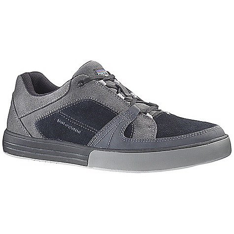 Free Shipping. Patagonia Men's Lantic Shoe DECENT FEATURES of the Patagonia Men's Lantic Shoe Waterproof suede leather upper Recycled polyester mesh lining for moisture management Extra padding for comfort and protection in collar and tongue area 15% Recycled EVA midsole with Patagonia Air Cushion provides cushion and comfort and absorbs shock 20% Recycled EVA/rubber outsole provides lightweight cushioning combined with durability and traction on smooth wet surfaces Last Characteristics: Medium width, Full toe box, Medium arch/instep The SPECS Weight: 1/2 pair: 12.7 oz Better Leather Soft support/flex Recycled Rubber - $129.95