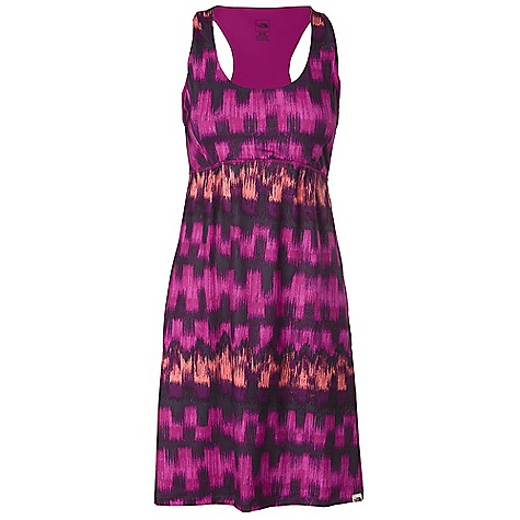 Entertainment Free Shipping. The North Face Women's Cypress Dress DECENT FEATURES of The North Face Women's Cypress Dress Incredibly soft midweight stretch knit offers breathability and mobility Scoop neck with unique racerback Small pleats at chest for a flattering and comfortable fit Flat locked seams for comfort Quick-drying performance Ultraviolet Protection Factor (UPF) 50 The SPECS Average Weight: 8 oz / 220 g Length: 37in. 187 g/m2 (6.596 oz/yd2) 88% polyester, 12% elastane stretch knit This product can only be shipped within the United States. Please don't hate us. - $69.95
