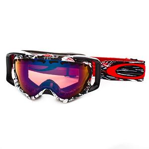 Ski Oakley Crowbar Seth Morrison Goggles 2013 - The Crowbar polarized goggles are the result of 28 years of painstaking development and research to maximize comfort and precision clarity. Oakley pays tribute to the awesomeness of Seth Morrison will a signature series pair of goggles. They have extended the lens size with a curvature in the optically pure Plutonite material that opens up your peripheral and downward view. And with the patented innovations of the High Definition Optics they will maintain a clear line of sight at every angle without distortion while at the same time providing 100% protection from harmful UV rays. They have also been chemically treated with a permanent F3 Anti-fog coating for exceptional performance within a variety of conditions but at the same time have surpassed all industry standards to offer impeccable high impact protection. The O Matter frame which is lightweight and flexible, was designed with 3D Cad/Cam engineering to maintain a continuous seal that works in conjunction with the strap to provide even distribution for a precise anatomical fit with all day comfort. Features: Patented XYZ Optics, Plutonite lens material offers 100% UV protection. Race: No, Category: Adult, OTG: No, Comes w/ Case: No, Fog Fan: No, Frame Size: Large, Spherical Lens: Yes, Polarized: No, Photochromatic: No, Rubberized Strap: Yes, Helmet Compatible: Yes, Frame Size: Medium, Frame Size: Large, Lens Shape: Spherical, Lens Coating: n/a, Has Fan: No, Model Year: 2013, Product ID: 247749, Headphones Included: No - $89.95
