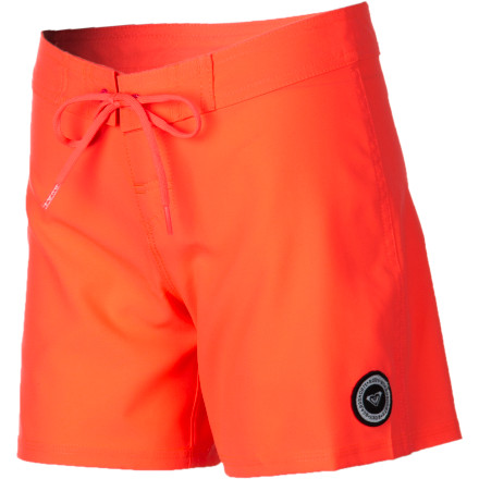 Surf Let your girl keep her look simple with the Roxy Classic Girls' Board Short and let her surfing do the talking for her. The four-way stretch fabric is flexible for freedom of movement when she's showing the boys how it's done. - $38.00