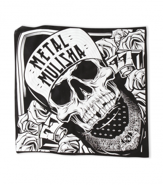 "Motorsports Metal Mulisha Mens BOOMERS BANDANA. Cotton printed and ready for the circle pit! 22"" x 22"" - $5.99"