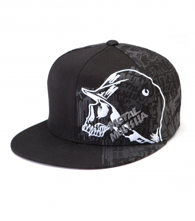 Motorsports Metal Mulisha Mens hat.  83% Acrylic / 15% Wool / 2% PU Spandex Flexfit cap with flat embroidery on left front panel and screen on left front panel and back four panels. - $18.99