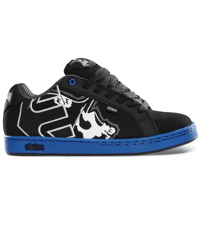 Motorsports Metal Mulisha Etnies Fader Shoes.  Action Nubuck / Synthetic; padded tongue and collar; elastic tongue-centering straps; internal EVA midsole; STI Foam Lite level 1 footbed; new 300 NBS rubber outsole.Limited Edition Metal Mulisha etnies Collaboration shoe. - $37.99