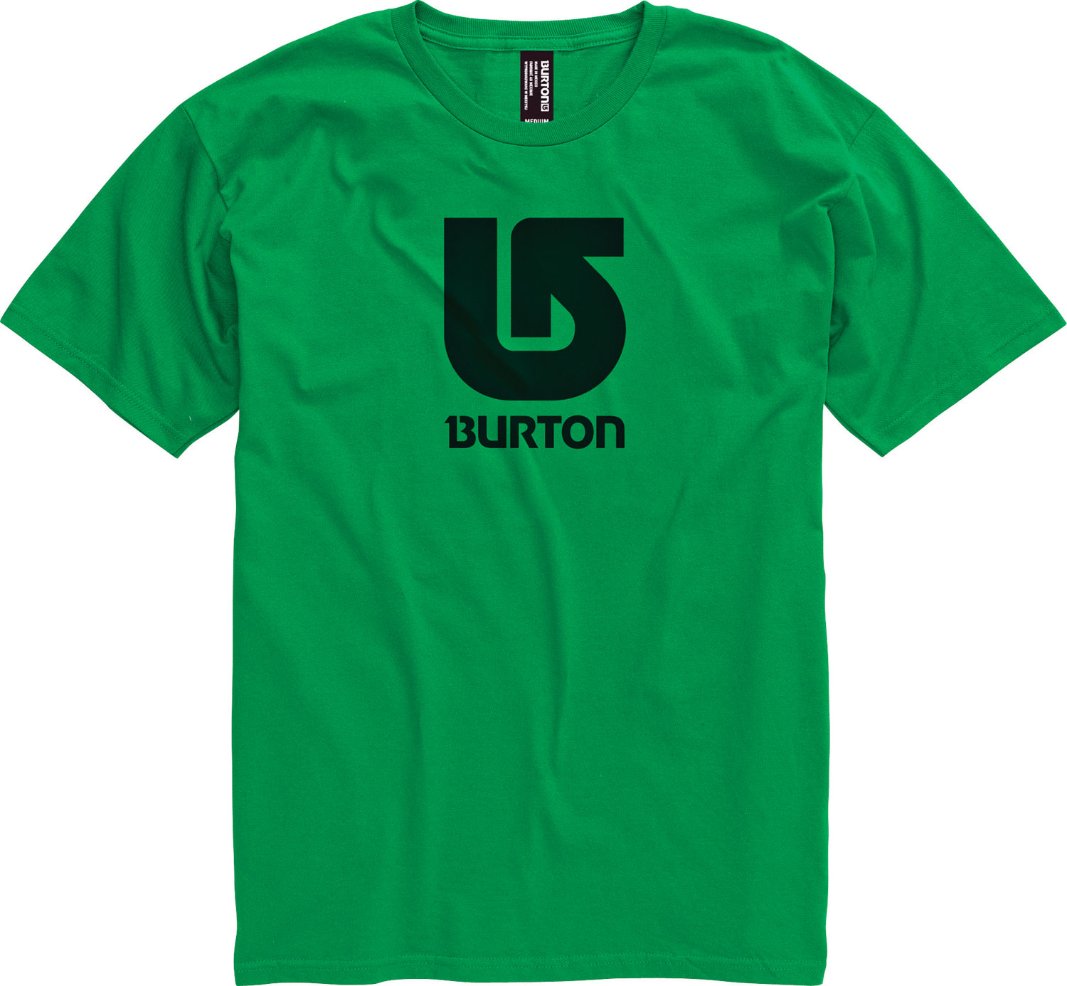 Snowboard Key Features of the Burton Logo Vertical T-Shirt: 90% Cotton, 10% Polyester [Heather Gray] 100% Cotton [All Other Colorways] Screen Print on Front and Back Regular Fit - $21.00