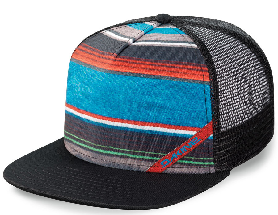 Surf Key Features of the Dakine Palapa Trucker Cap: Sublimated polyester and mesh trucker Adjustable snap back - $15.00