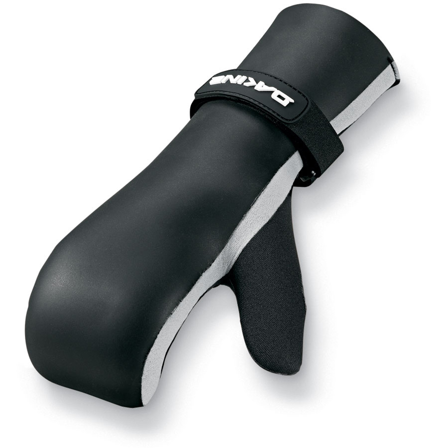 Wake Keeping your hands warm has never been so easy. Non slip thin palm material allows you to hold on tight, while the neoprene mitt protects your hand from the cold.Key Features of the Dakine Cold Water Sailing Mitts: Polypropylene fleece liner Pre-curved shape Non slip palm material Wind resistant smoothskin neoprene - $28.95