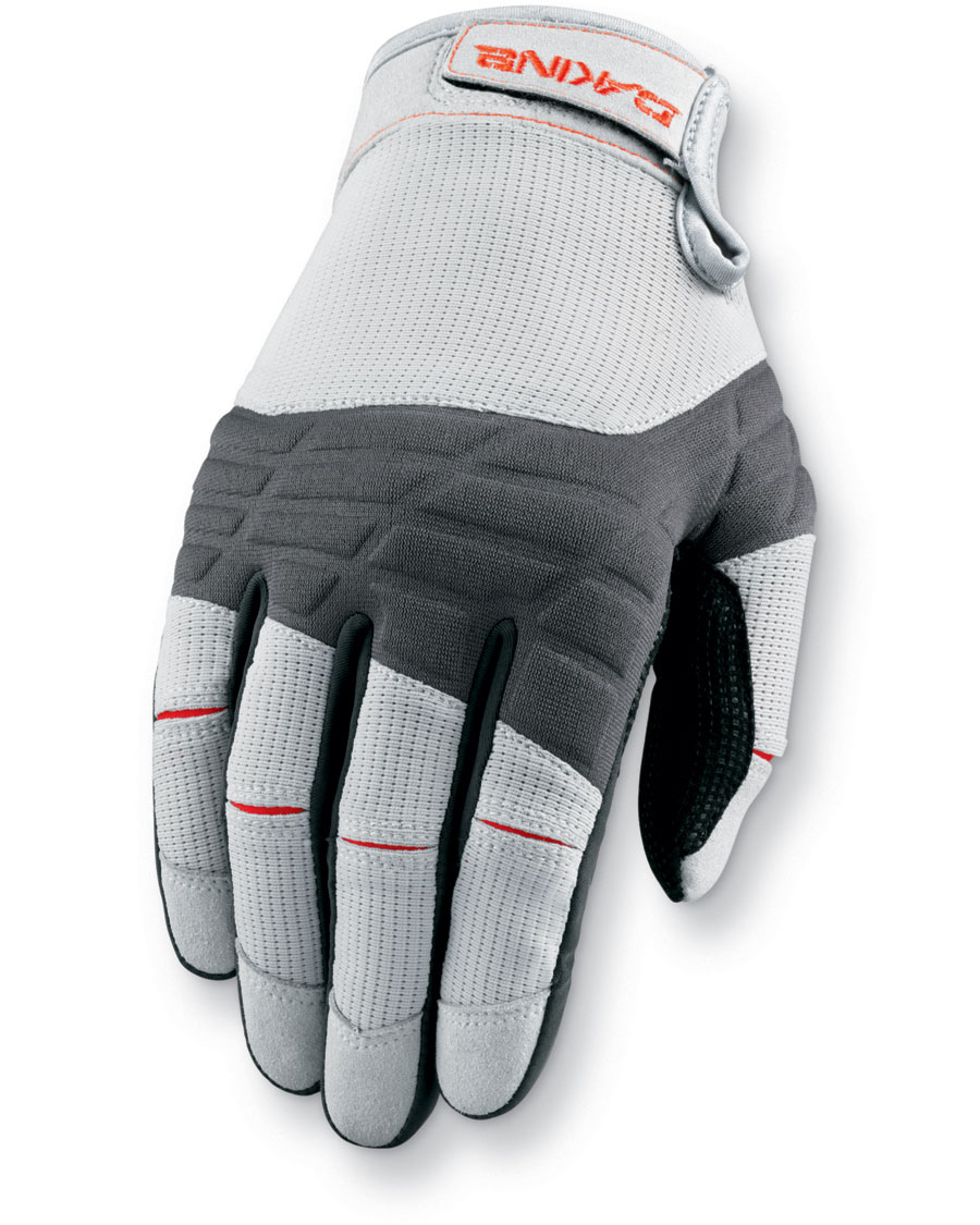 Surf The full finger glove combines ultimate performance and styling, with a durable construction.Key Features of the Dakine Full Finger Sailing Gloves: Non slip palm material Compression molded neoprene back panel Breathable mesh for maximum comfort - $34.00