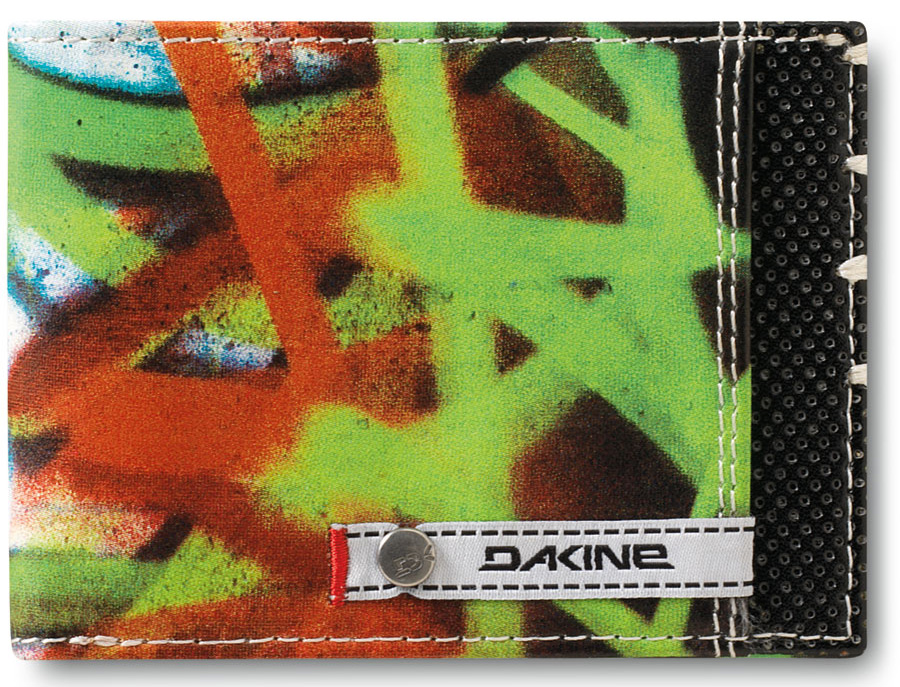 Entertainment Key Features of the Dakine Conrad Wallet: 100% Pu with screenprint graphic Bi fold - $15.00
