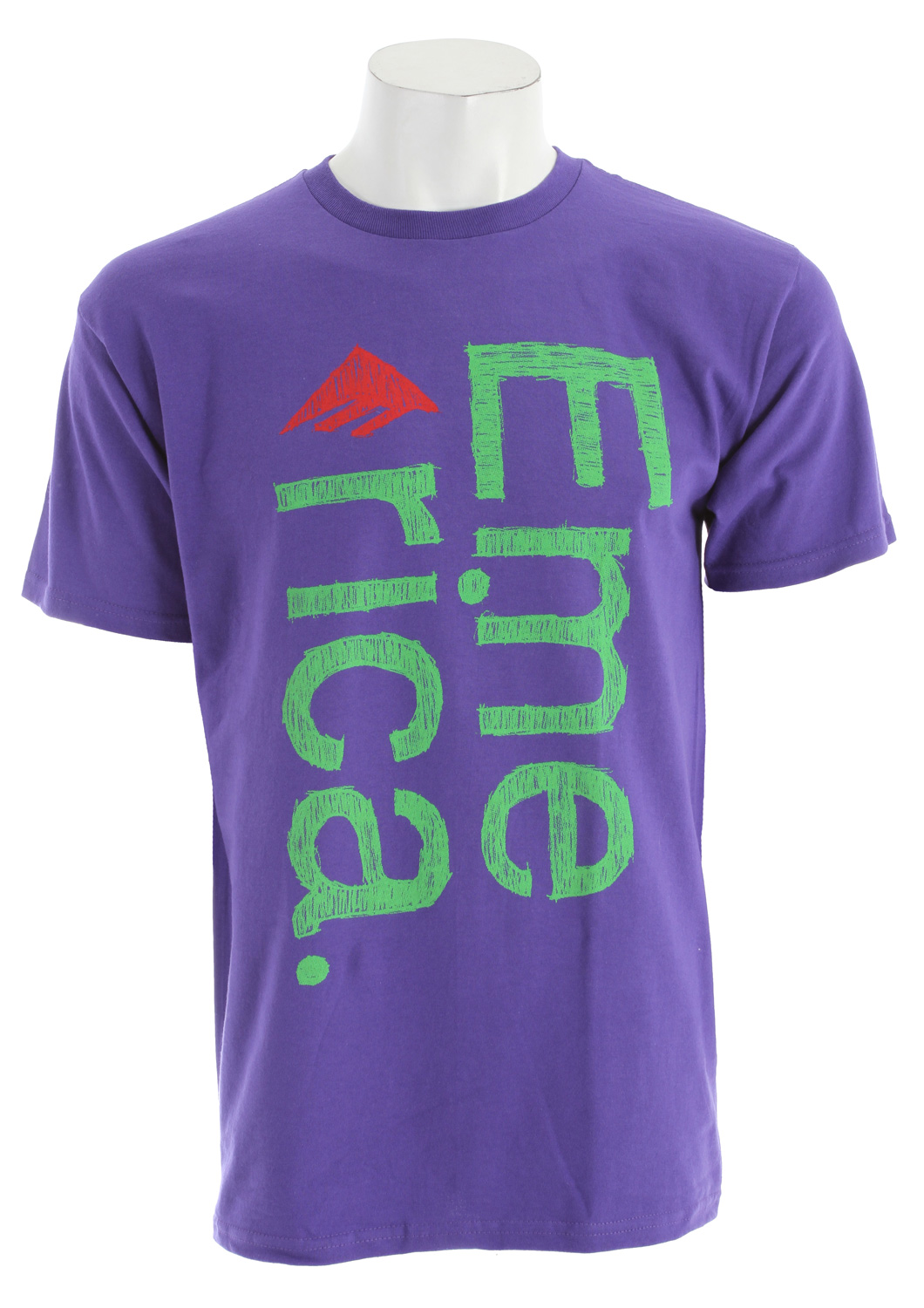 Key Features of The Emerica Scratch T-Shirt: Regular Fit Crew Neck Short Sleeve - $13.95