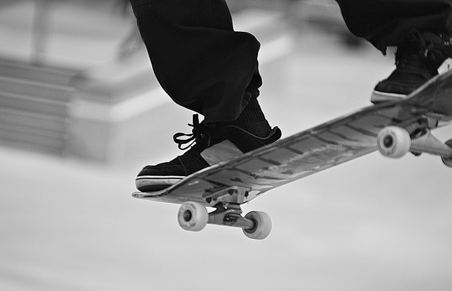 Skateboard On the Board