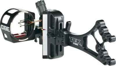Hunting Three-pin adjustable sight is the perfect mix of a precision competition sight engineered for hunting. Oversized four-point Rapid Drive knob allows for to-the-yard microadjustment. Delrin tracks ensure sights remain tight and rattle-free. Adjustable rheostat light (included) for easily viewable sight pins in low-light conditions. Lightweight and durable fully machined-aluminum construction. Integrated sight level. Three .019-dia. fiber-optic Rhino Pins. Right hand only. Made in USA. - $249.88