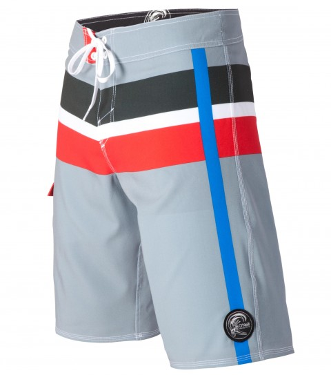 "Surf O'Neill Good Ol Days Boardshorts.  Epicstretch.  21"" outseam boardshort features superfly closure; welded side pocket with bonded flap and button closure; circle surfer patch and screened logos. - $32.99"