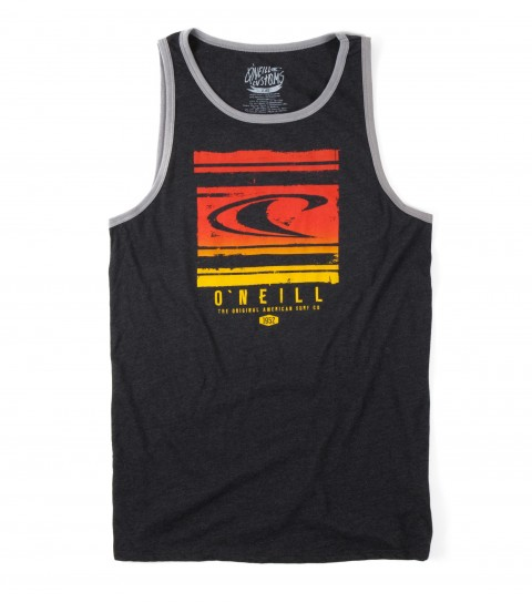 Surf O'Neill Crate Tank.  50% Cotton / 50% Poly.  30 singles classic fit tank with softhand screenprint. - $14.99