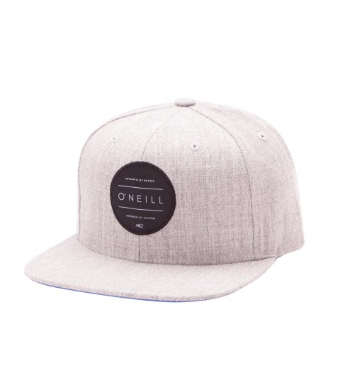 Surf O'Neill Turnover Hat.  Cotton twill snapback hat with HDMD woven label at front; contrast undervisor and taping; rear woven label. - $15.99