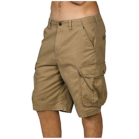 Surf Billabong Men's Transmitter Short DECENT FEATURES of the Billabong Men's Transmitter Short Cotton twill cargo walkshort featuring a slant side pocket Oversized side cargo pockets and welt back pockets Logo's include a Billabong woven label at the right hip and a mlitary woven label on the cotao pocket flap 22in. Relaxed fit The SPECS 100% Cotton - $44.95