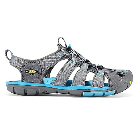 Surf Free Shipping. Keen Women's Clearwater CNX Sandal FEATURES of the Keen Women's Clearwater CNX Sandal Washable polyester webbing upper Metatarsal ridge for natural underfoot support 4mm midsole drop Proprietary lightweight PU midsole compound for long lasting support and comfort Multi-directional flex grooves for natural flexibility and improved ground contact Non-marking rubber outsole Contoured arch TPU stability shank Razor siping for added traction Secure fit lace capture system with 2mm bungee lace Aegis microbe shield hydrophobic mesh lining - $99.95