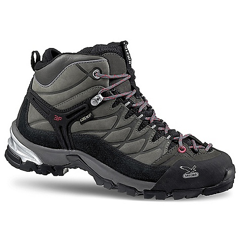 Camp and Hike Free Shipping. Salewa Women's WS Hike Trainer GTX Boot DECENT FEATURES of the Salewa Women's WS Hike Trainer GTX Boot Upper: Nubuk + Suede Lining: Gore-Tex Extended Comfort Outsole: Vibram Hike Approach The SPECS Weight: 465 g - $188.95