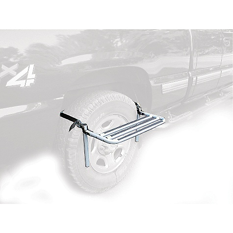 Entertainment On Sale. Free Shipping. Thule Step-Up DECENT FEATURES of the Thule Step-Up Made from heavy-duty steel, the Step-Up Wheel Step attaches to most vehicle tires Folds flat when not in use for easy storage Includes storage bag This product can only be shipped within the United States. Please don't hate us. - $62.96