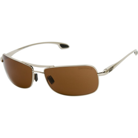 Camp and Hike Whether or not it's time to head up or down the mountain, throw on your Julbo Truck Sunglasses and get a little relief from the blinding bright. - $99.95