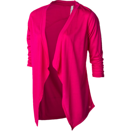 Entertainment Slip the Soybu Women's Vita Cardigan Sweater on over a T-shirt or cami when you want to dress up a casual summer look. This lightweight wrap adds dimension and even a bit of sophistication for those times when you need to bring a little class to your surroundings. - $34.95