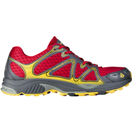 Fitness Ultralight is nothing new and heavy-duty is a thing of the past for trail shoes; Vasque took the middle ground by balancing weight and function when it created the Men's Pendulum Trail Running Shoe. This minimalist-meets-rugged-runner shoe offers the cushioning and protection needed you need for rocky trails and the agility you want to be quick off your toes. As the lightest, most breathable, and most versatile trail shoe in Vasque's lineup, the Pendulum gets it just right for long-distance missions on the singletrack or fast hill-running in the mountains. - $93.46