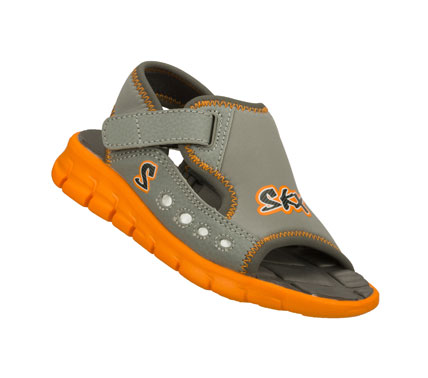 Surf Sporty fun in the sun comes with the SKECHERS Synergize - Dripz sandal.  Soft flexible neoprene synthetic upper in a sporty beach-ready sandal with stitching and overlay accents. - $28.00