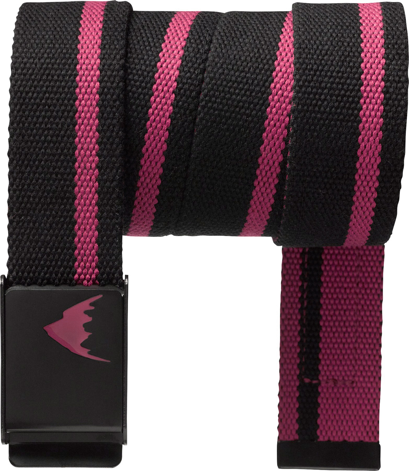 Snowboard Key Features of the Burton Striper Belt: Burton Process Logo Rivet Burton Word Mark Etched Buckle Polyester Webbing Belt - $14.95